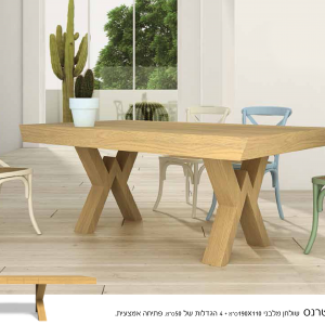 שולחן פוינט כסא טרנס