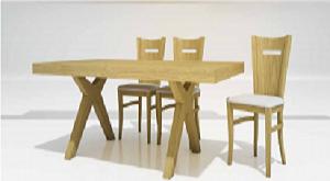 שולחן דנבר כסא קורני