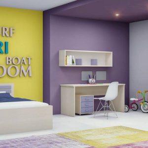חדר ילדים/נוער דגם – אלמוג